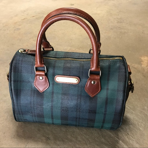 a3fce767bc Polo Black Watch Plaid Tartan Speedy Doctor Bag.  M 5bdbc143c89e1d53591bf7dd. Other Bags you may like. Vtg Polo Ralph Lauren  ...